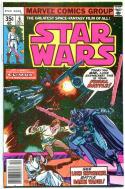 STAR WARS #6, VF+, Luke Skywalker, Darth Vader, 1977, more SW in store, QXTb