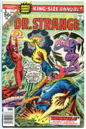 DR STRANGE #1, Annual, VF/NM, Craig Russell, 1976, Mystic, Doc, Doctor, King-Size