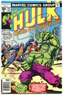 HULK #212, VF/NM, Incredible, Bruce Banner, 1st Constrictor, 1968, more in store