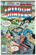 FREEDOM FIGHTERS #2, 4, 10, 13, VF, 4 issues, 1976, Wonder Woman, Uncle Sam