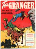 TEX GRANGER #24, GD/VG, 1948, Golden Age, Western, Sheriff, Stolen Ballots