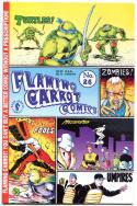 FLAMING CARROT #26, VF/NM, Bob Burden, Teenage Mutant Ninja Turtles, 1984