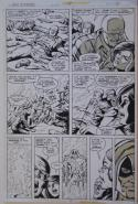 CARMINE INFANTINO original art, MS MARVEL #19, Ronan, Guardians of the Galaxy