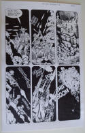 DON LOMAX Original Art, Vietnam Journal #8 pg 10, Brain Dead Horror,Caliber,2011