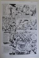 DON LOMAX Original Art, Vietnam Journal #8 pg 14, Brain Dead Horror,Caliber,2011