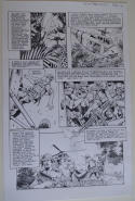 DON LOMAX Original Art, Vietnam Journal #8 pg 16, Brain Dead Horror,Caliber,2011