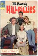 BEVERLY HILLBILLIES #1, VG-, Buddy Ebsen, Clampetts, Donna Douglas, Baer, 1963