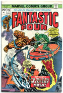 FANTASTIC FOUR #154, VF, Nick Fury, Dick Ayers, 1961, more Marvel in store