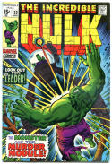 HULK #123, FN/VF, Bruce Banner, The Leader, Trimpe, 1968, more Hulk in store