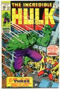 HULK #127, FN/VF, Bruce Banner, Mogol, Tyrannus, Trimpe, 1968,more Hulk in store