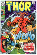 THOR #176, VF+/NM, God of Thunder, Stan Lee, Jack Kirby, 1966,more Thor in store