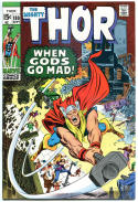 THOR #180, VF, Neal Adams, God, Stan Lee, 1966, Thunder, more Thor in store