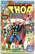 THOR #6 Annual, VG-, God of Thunder, Guardians of the Galaxy, 1966 series, 1977
