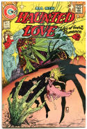 HAUNTED LOVE #6, VF+, Tom Sutton, Gothic Horror, 1973, more Charlton in store