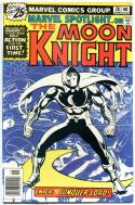 MARVEL SPOTLIGHT #28, VF+, 1st solo Moon Knight, 1971 1976, more Bronze in store