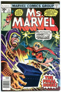 MS MARVEL #4, FN+, Jim Mooney, Claremont, 1977, Bronze age, more Marvel in store
