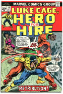 HERO for HIRE #14, FN+, Luke Cage, Power Man, Big Ben, 1972 1973, more in store