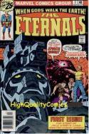 ETERNALS #1, VF, Jack Kirby, Origin & 1st app, 1976, more JK in store
