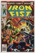 IRON FIST #15, VF/NM, Claremont, John Byrne, X-men, Wolverine, Marvel, 1975 1977