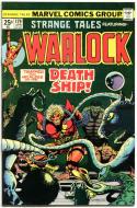 STRANGE TALES #179, VF-, Jim Starlin, 1st Pip , 1975, Warlock, Marvel