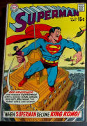 SUPERMAN #226, VG/FN, Red Kryptonite, King Kong, 1939 1970, more SM in store