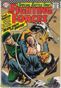 OUR FIGHTING FORCES #100, VG+, Capt Hunter, Death, 1954 1966, more in store