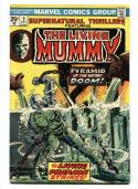 SUPERNATURAL THRILLERS #9, VF, Living Mummy, 1972 1974, more Horror in store
