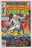 SPECTACULAR SPIDER-MAN #9, FN+, White Tiger, Buscema, Tiger in the night
