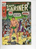 SUB-MARINER #33, FN+, Buscema, Cataclysm, Marvel, 1968 1971, more in store