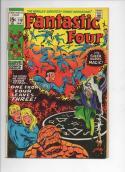 FANTASTIC FOUR #110, VG+, Agatha, John Buscema, 1961, more FF in store