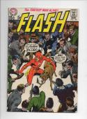 FLASH #195,  FN+, Killer Dog, Neal Adams, Gil Kane, 1970, more in store, DC