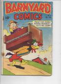 BARNYARD COMICS #21, GD+, Frank Frazetta, Pre-Code  Golden Age, 1944, more in store