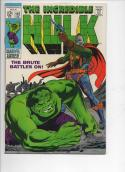 HULK #112, VF, Bruce Banner, Shanghaied in Space, 1968, more Hulk in store