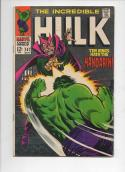 HULK 107, FN, Bruce Banner, Mandarin, Shield, Giant  Android, Marvel, 1968