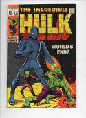 HULK #117, VF, Bruce Banner, Leader, World's End, more Marvel in store, 1968 1969