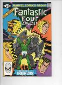 FANTASTIC FOUR #16 Annual, VF/NM, Dragon Lord, 1961 1981, Marvel