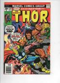 THOR #252 VF+ God of Thunder Troll Ulik Buscema 1966 1976, more Thor in store