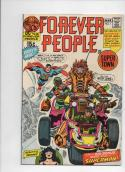 FOREVER PEOPLE #1 2 3 4 5 6 7 8 9 10 11, Jack Kirby, 1971, Darkseid, High Grades, #1 is Signed !