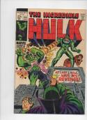 HULK #114, FN, Bruce Banner, Stan Lee, Herb Thrimpe, 1968, Incredible