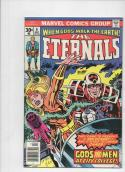ETERNALS #6, VF, Jack Kirby, Gods and Men, 1976, more JK in store