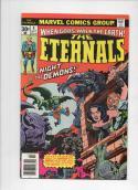 ETERNALS #4, FN/VF, Jack Kirby, Marvel, Night of the Demons, 1976, more JK in store