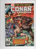 CONAN the BARBARIAN #2 Annual, VF/NM, Robert Howard, Buscema, 1976 more in store