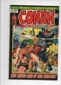 CONAN the BARBARIAN #17, VF+ Gil Kane, God of BS, 1970 1972, more in store