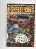 Michaelangelo Micro Series TEENAGE MUTANT NINJA TURTLES #1, NM-, 1985, Xmas