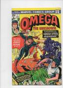 OMEGA THE UNKNOWN #1, FN/VF, Jim Mooney, 1st appearance, 1976, more in store