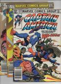 CAPTAIN AMERICA #273, 275, 278, VG/FN,  Nick Fury, Zemo, 1968 1982, more CA in store 3 issues
