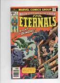 ETERNALS #4, FN, Jack Kirby, Marvel, Night of the Demons, 1976, more JK in store