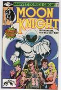MOON KNIGHT #1, VF, 1980, Bill Sienkiewicz, more Bronze & Marvel in store