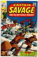CAPTAIN SAVAGE #16, VF, Leathernecks, BattleField, 1968 1968, more in store