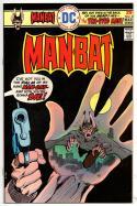 MAN-BAT #2, VF+, 1975 1976, Blind Justice, more BM in store